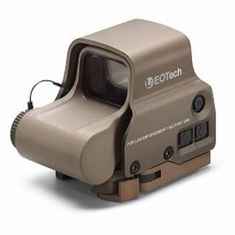 EOTech EXPS3-0 Red Dot Sight w/ 1 MOA Dots/68 MOA Ring, Night Vision Compatible, Tan