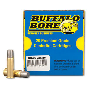 Buffalo Bore .44 Mag +P+ 340 Grain LFN-GC 20 Round Box