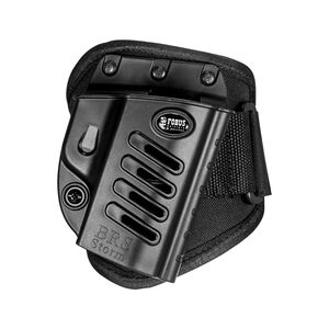 Fobus Ankle Holster Beretta/FN/Remington/S&W Right Hand Draw Polymer Shell/Cordura Pad with Velcro Strap Matte Black Finish