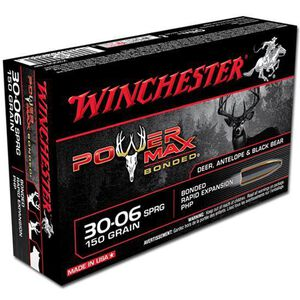 Winchester 30-06 SPRG 150 Grain Bonded PHP 20 Round Box