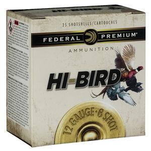 "Federal Premium Hi-Bird 12 Gauge Ammunition 2-3/4"" #8 Lead Shot 1-1/8 Ounce 1275 fps"