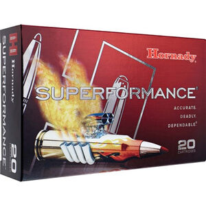 Hornady Superformance .300 WSM Ammunition 20 Rounds 165 Grain GMX 2997fps