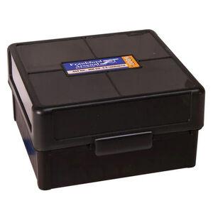 Frankford Arsenal Plastic Hinge-Top Ammo Box 100 Round .223 Rem and Similar Polymer Black