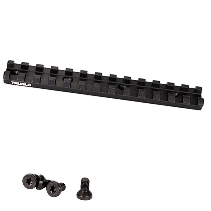 TruGlo Picatinny Optic Rail Remington 870/1100/11-87 and Versa Max Aluminum Matte Black
