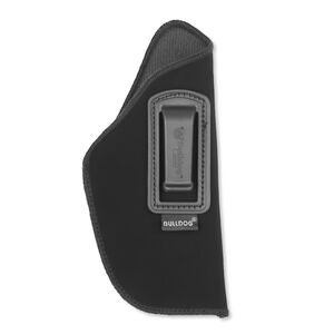 """Bulldog Cases Deluxe Inside Pant Holster Size 7 Standard Semi-Auto Pistol with 2"""" to 4"""" Barrel IWB Right Handed Nylon Black DIP-7"""