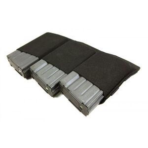 Blue Force Gear Ten-Speed Triple 308 Mag Pouch Black  HW-TSP-SR25-3-BK