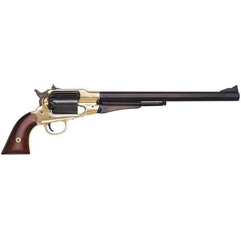 "Traditions 1858 Bison Black Powder Revolver .44 Caliber 12"" Barrel Brass and Walnut Finish"