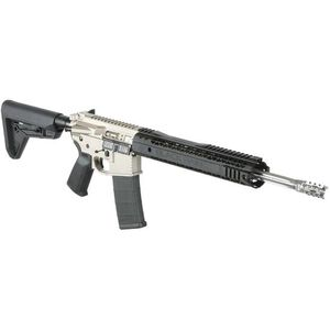 "Black Rain Ordnance AR-15 Semi Automatic Rifle 5.56 NATO 16"" Stainless Barrel 30 Rounds UBR Stock Black Anodized Finish BRO-PG11-18BLK"