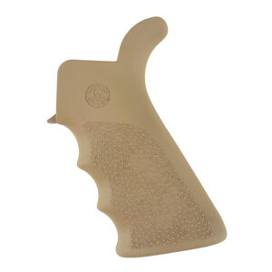 Hogue AR-15/M16 OverMolded Pistol Grip With Beaver Tail Rubber Flat Dark Earth 15023