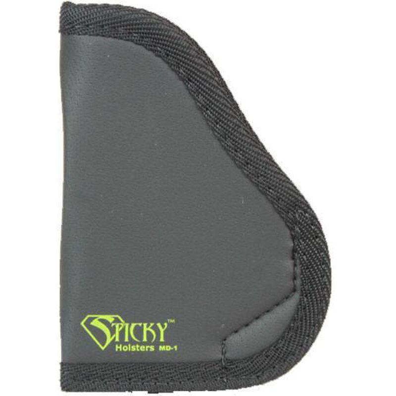 Sticky Holsters MD-1 Holster for Small/Medium Frame Handguns Ambidextrous Black