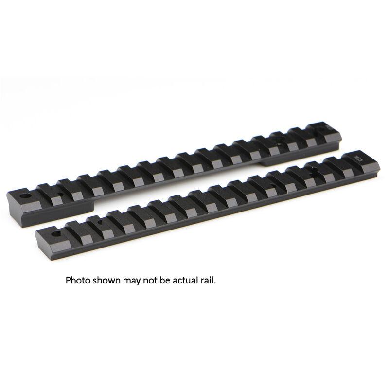Warne Mountain Tech One Piece Picatinny/Weaver Style Scope Base 20 MOA Remington 700 Short Action Pattern Aluminum Matte Black