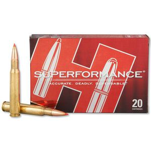 Hornady Superformance .30-06 Springfield GMX Lead Free Projectile, 165 Grain, 2940 fps, 20 Round Box 8116