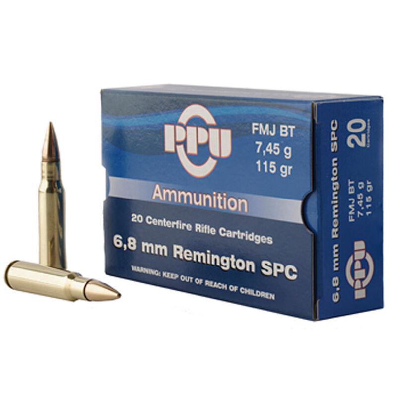 Prvi Partizan 6.8 Remington SPC Ammunition 20 Rounds 115 Grain FMJBT 2624fps
