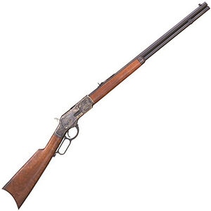 "Cimarron Firearms 1873 Sporting Lever Action Rifle .44 WCF 24"" Barrel 13 Rounds Walnut Stock Blued Finish"