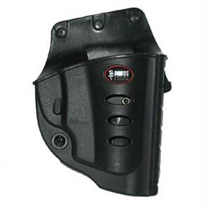 Fobus Evolution Holster Ruger LCR,SP101/Charter Arms Bulldog Right Hand Belt Attachment Polymer Black