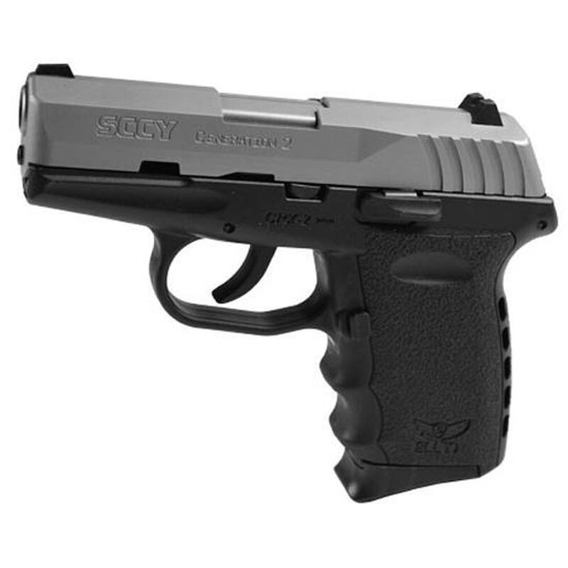 "SCCY CPX-2 Gen 2 9mm 3.1"" Barrel 10 Rounds Black"