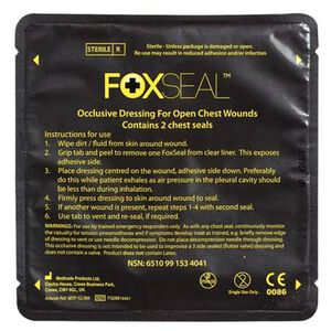 Voodoo Tactical Foxseal Occlusive Dressing