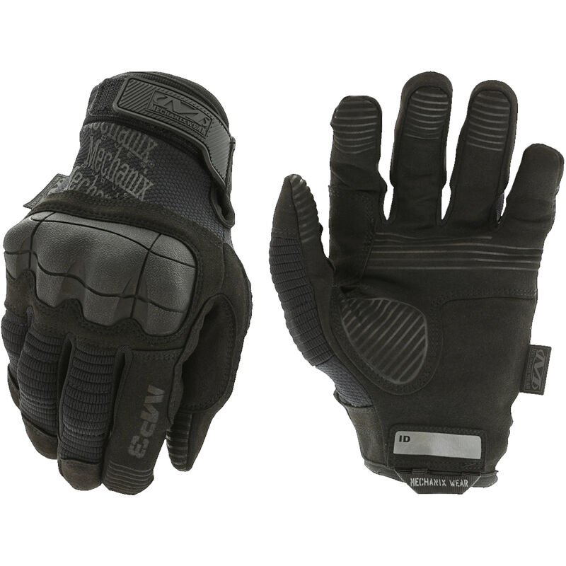 Mechanix Wear M-Pact 3 Covert Gloves Size Large Synthetic Black