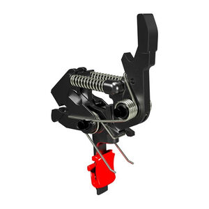 Hiperfire HIPERTOUCH Competition AR-15 Single Stage Semi Auto Trigger Small Pin Compatible Straight Trigger Bow/Finger Pad Matte Black Finish
