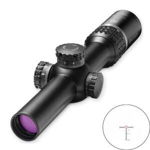 Burris XTR II 1-5x24 Riflescope Ballistic CQ Mil Illuminated Reticle 1/10 MIL Adjustment M.A.D. System Matte Black