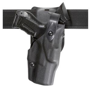 Safariland Model Model 6365 ALS/SLS Low-Ride Duty Belt Holster Right Hand Fits S&W M&P 9mm/.40 Hardshell STX Plain Black