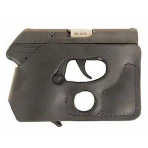 DeSantis Pocket Shot Ruger LCP, Keltec P32 and P3AT, Kahr 380, Sig P238 Taurus TCP Pocket Holster Black Leather