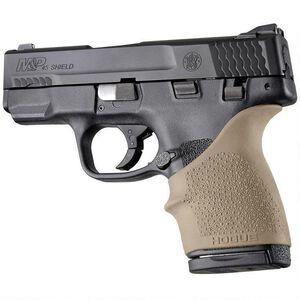 Hogue HandAll Beavertail Grip Sleeve S&W M&P Shield .45/Kahr P9/40 CW9/40 Rubber FDE 18303