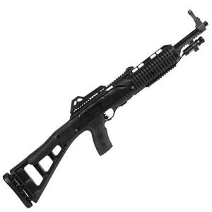 "Hi-Point Firearms Carbine Semi Automatic Rifle 9mm Luger 16.5"" Barrel 10 Rounds Synthetic Stock Black Finish with Laser 995TSLAZ"