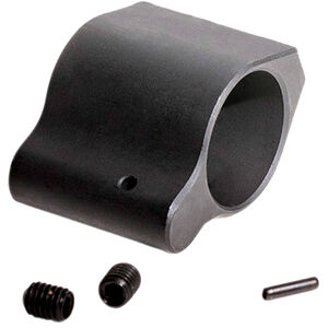 Luth-AR AR-15 Lo-Profile Gas Block .936 Diameter with Set Screws and Roll Pins Black
