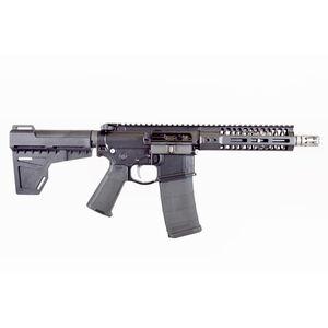 "2A Armament Balios-Lite Gen 2 AR-15 Semi Auto Pistol .300 AAC Blackout 8"" Barrel M-LOK Hand Guard Arm Brace Black"