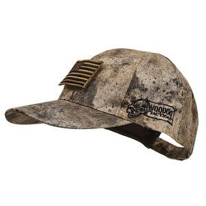 Voodoo Tactical Contractor, Baseball Cap w/Flag, Size fits All Voodoo Tactical Camo(VTC)