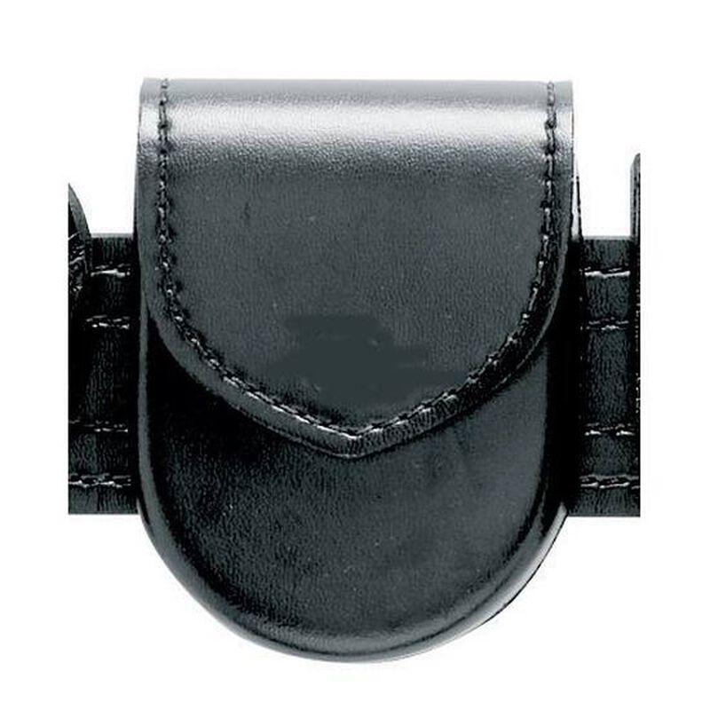 Safariland Model 90HS Top Flap Handcuff Pouch Hidden Snap Nylon Look Black 90H-22HS