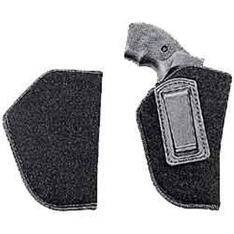 """Uncle Mike's Inside-the-Pants Holster Medium-Frame Autos 3"""" to 4"""" Barrels Size 1 Left Hand Open Nylon Black"""