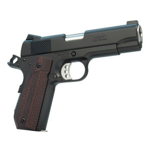 "Ed Brown Kobra Carry G4 1911 Semi Auto Pistol .45 ACP 4.25"" Barrel 7 Rounds Orange HDRX Front Sight/Black Rear Sight Steel Frame/Slide Black Gen4 Coating Finish"