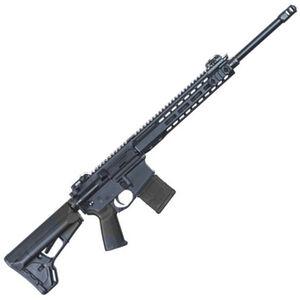 "Barrett REC7 DMR AR-15 Semi Auto Rifle 5.56 NATO 18"" Barrel 20 Round Magazine Gas Piston System Enhanced M-LOK Hand Guard 6-Position Stock Cerakote Black Finish"