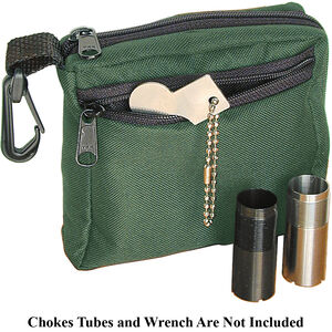 Remington Choke Tube Case Holds 6 Tubes and Wrench with Belt Loops Cordura Green