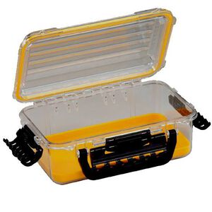 "Plano Guide PC Field Box 3600 Size Medium 6.5"" x 4.675"" x 2.125"" Yellow 1460-00"