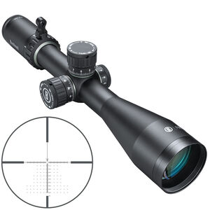 Bushnell Forge 2.5-15x50mm Riflescope Non-Illuminated Deploy MOA Reticle 30mm Tube 0.25 MOA Adjustments First Focal Plane Side Focus Parallax Matte Black