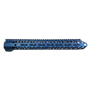 Timber Creek Outdoors Enforcer 15 Inch Hand Guard M-LOK Blue Anodized M E15 HG B