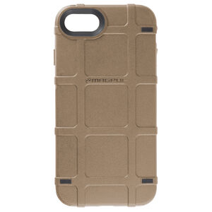 Magpul Bump Case Apple iPhone 7/8 Rigid Thermoplastic Outer Shell with Shock Absorbing Inner Layer/PMAG Style Ribs Flat Dark Earth