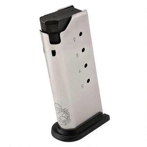 Springfield Armory XDS Magazine .40 S&W 6 Rounds Flush Fit Stainless Steel XDS4006