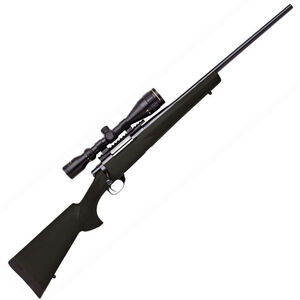 """Legacy Sports International Howa GameKing Package Bolt Action Rifle .270 Win 22"""" Barrel 4 Rounds Hogue Synthetic Stock Nikko Stirling 3.5-10x44 LRX AO Scope Black HGK62607"""