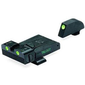 Meprolight GLOCK Handgun Tru-Dot Night Sights Green 3-Dot Steel 20224