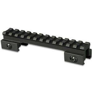 "Lion Gears AR-15 Tactical .75"" Riser Mount 12 Slots 5"" Long Aluminum Black BM1207"