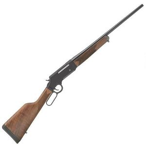"""Henry Long Ranger Lever Action Rifle .308 Winchester 20"""" Barrel 4 Rounds No Sights Drilled/Tapped Receiver Solid Rubber Recoil Pad American Walnut Stock Blued Finish"""