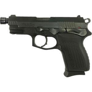 "Bersa TPRC 9mm Luger Semi Auto Pistol 4.13"" Threaded Barrel 13 Rounds Alloy Frame Polymer Grips Matte Black"