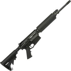 "Adams Arms PZ Rifle .308 Win AR-308 Semi Auto Rifle 16"" Barrel Piston Operated Optics Ready M4 Handguard Collapsible Stock Black Finish"