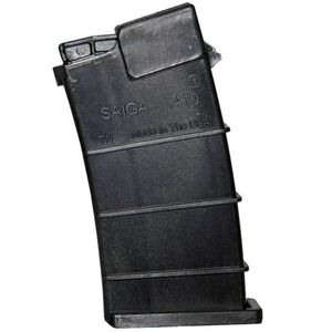 "SGM Tactical SAIGA Shotgun 10 Round Magazine .410 Bore 2-1/2"" Length Shells Only Polymer Matte Black"