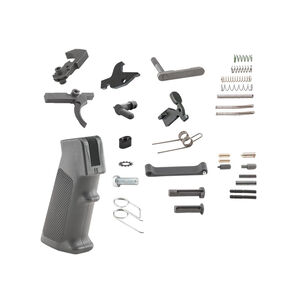 Luth-AR AR-15 Complete Lower Receiver Parts Kit Matte Black