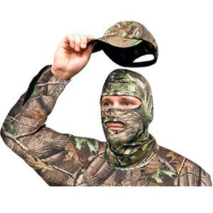 Primos Stretch Fit Full Hood Face Mask Realtree APG HD Camo